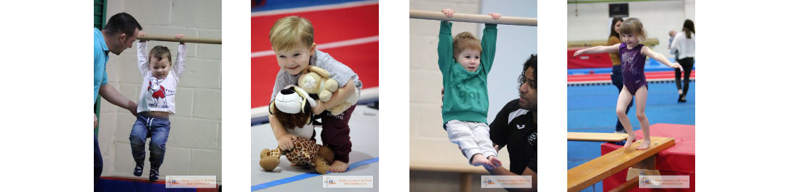 Pre School Gymnastics Collage